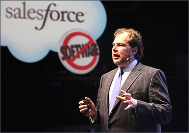Marc Benioff is chairman and CEO.