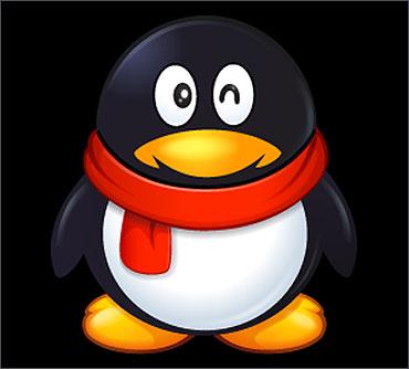 The QQ mascot.