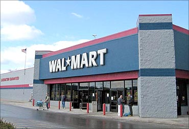 A Wal-Mart store.