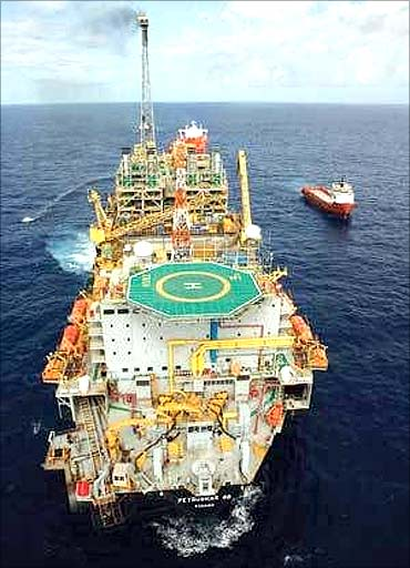 Petrobras oil rig.