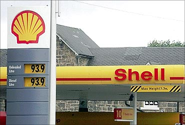 Royal Dutch Shell.