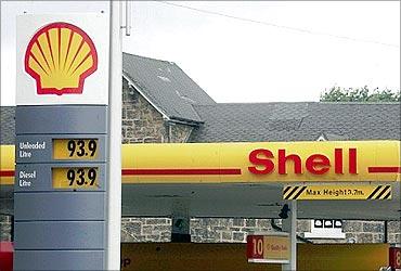 Royal Dutch Shell.
