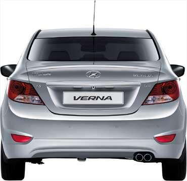 New Hyundai Verna.