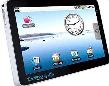 GFive tablet PC.