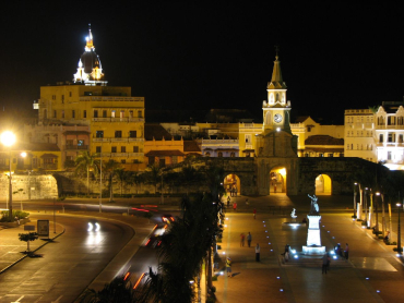 Unemployment rate in Colombia is 11.3 per cent. A view of cartagena.