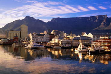 South Africa has 25.3 per cent unemployed. A view of Cape Town