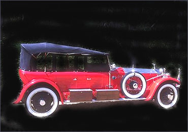 The Rolls-Royce Tiger Car stayed in India until it was purchased by Christopher Renwick.