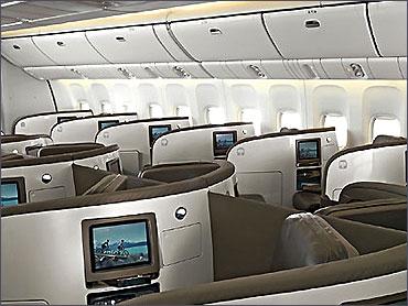 Air New Zealand's Business Premier class.