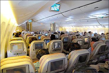 Economy Class on Emirates B777-300ER.