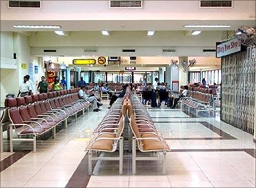 Goa International Airport.