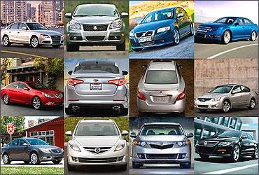5 most popular sedans in India