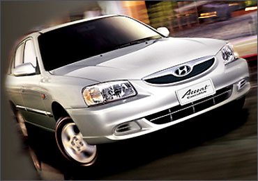 Hyundai Accent Executive.