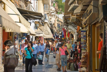 Greece's consumer market is 0.69 per cent of world market.