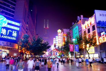 China's consumer market is 25 per cent of GDP.