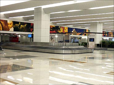 Delhi International Airport.