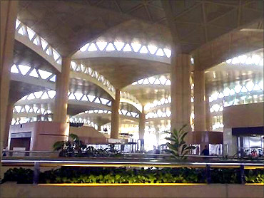 Riyadh International Airport.