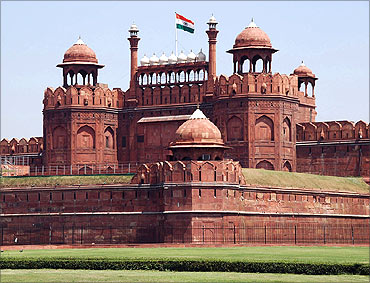 Red Fort, New Delhi.