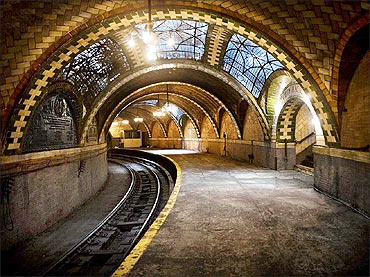 New York Subway.