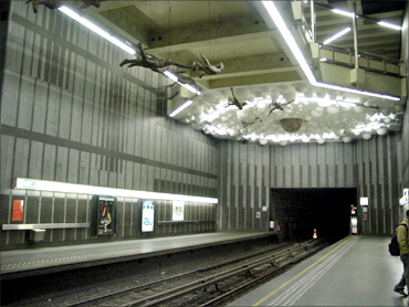 Brussels Metro.