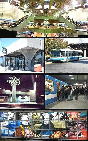 Montreal Metro.