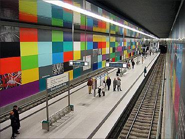 Munich Metro.