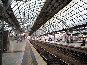 Berlin-Spandau station.