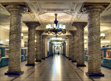 Saint Petersburg Metro.