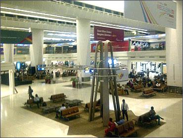 Delhi International Airport.