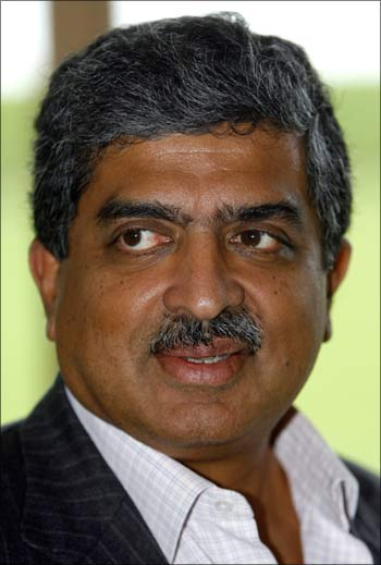 Nandan Nilekani, Chairman of the Unique Identification Authority of India