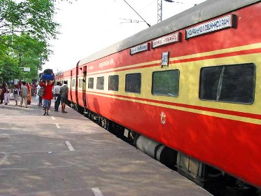 The Rajdhani Express.
