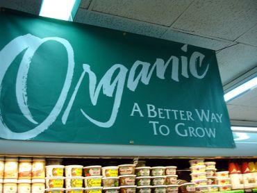 Prefer organic food.