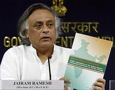 Environment Minister Jairam Ramesh.