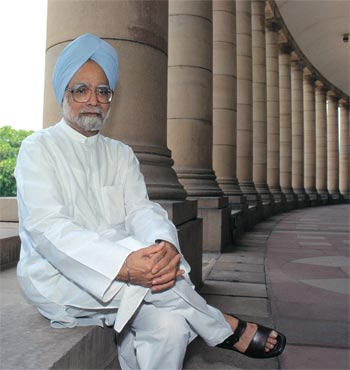 In Manmohan Singh's first term, growth rate was nearly 9 per cent.