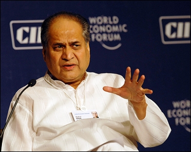 Rahul Bajaj, chairman Bajaj Auto.
