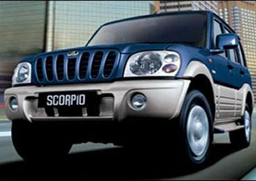 Mahindra Scorpio.