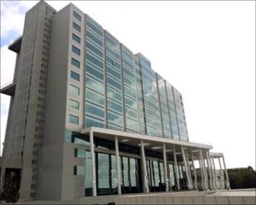 Wipro SEZ building.