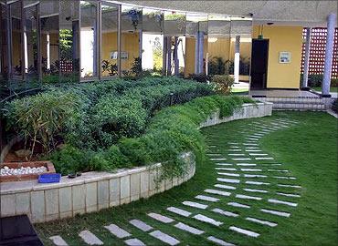 Central courtyard.