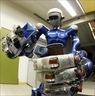 Future of robots: RJ can catch balls, make coffee