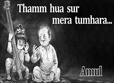 Amul's tribute.