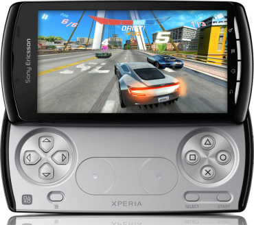 Sony Ericsson has launched Xperia Play with gaming grip.