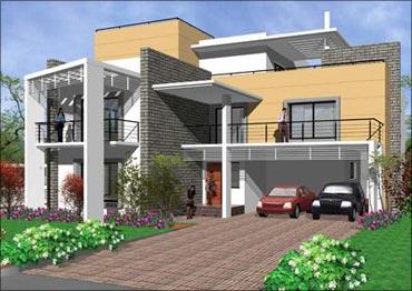 Sobha's Lifestyle Presidential Villas in Bengaluru.