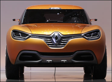 Renault Captur concept.