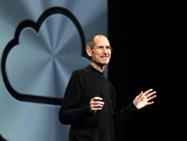 Jobs says digital life will move into the cloud.