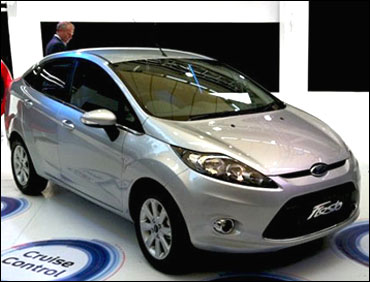 New Ford Fiesta.