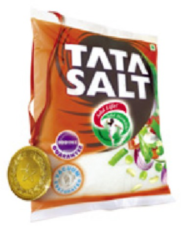 Tata Salt, a product from Tata Chemicals