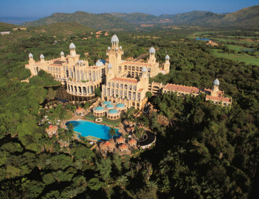 Sun City is the largest amusement facility in South Africa.