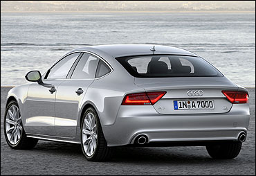 Rear view of A7.