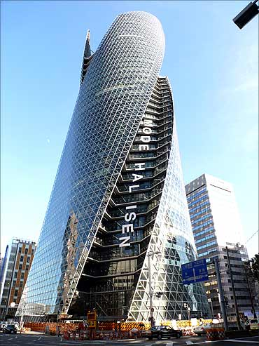Mode-Gakuen Spiral Towers, Nagoya.