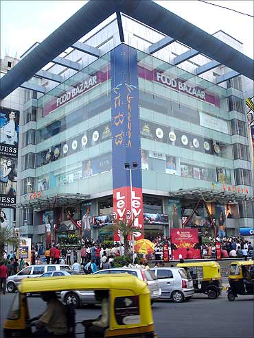 Garuda Mall, Bangalore.