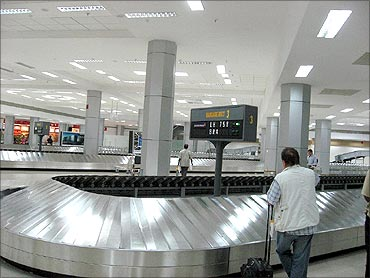 Chennai International Airport.